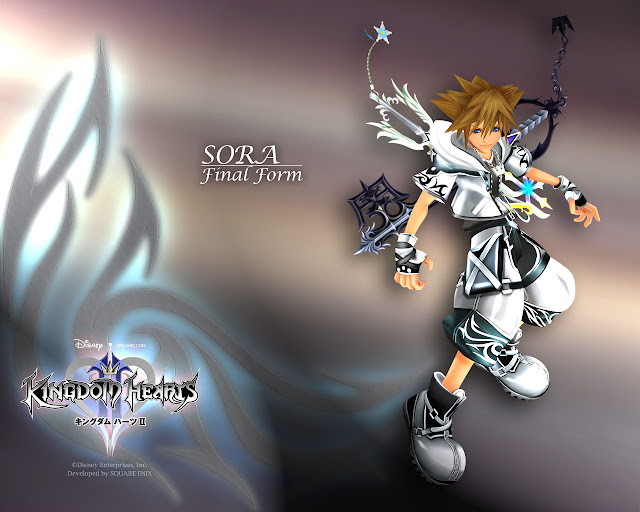 kingdom hearts 2 square enix action jrpg rpg japanese role playing game