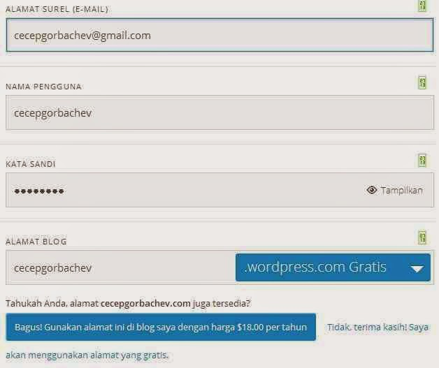bagaimana cara bikin blog wordpress