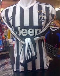 gambar photo Jersey lengan panjang Juventus home Adidas terbaru musim 2015/2016
