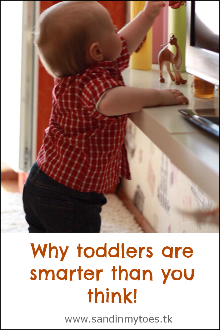 Six ways in which toddlers are smarter than you think!