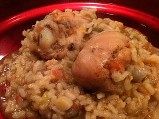 Cocina con Aníbal Arroz caldoso con pollo