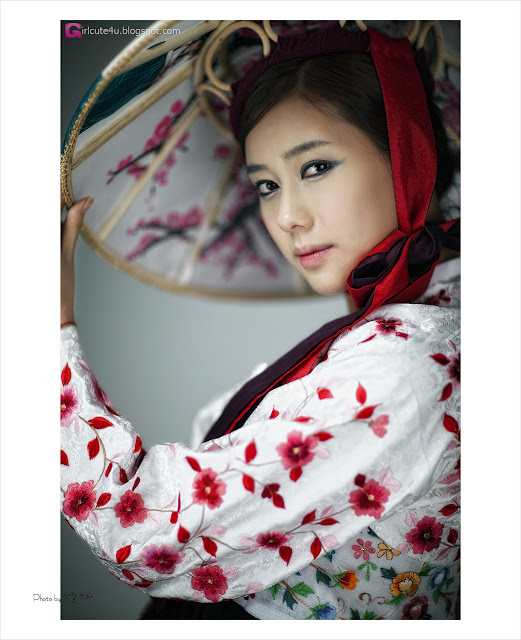 1 Kim Ha Yul - Elegant Hanbok-very cute asian girl-girlcute4u.blogspot.com