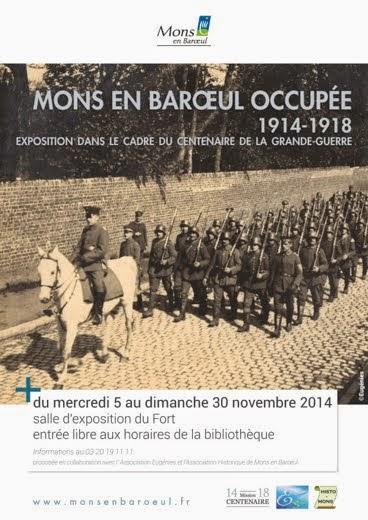 Exposition des 100 ans de la guerre 14-18 à Mons-en-Barœul