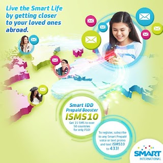 Smart International SMS Text using iSMS 10 Promo