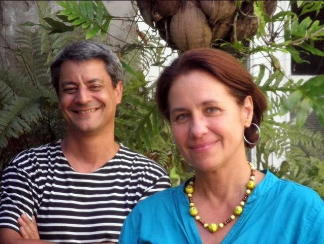 Juan Luis Morales y Teresa Aysuo