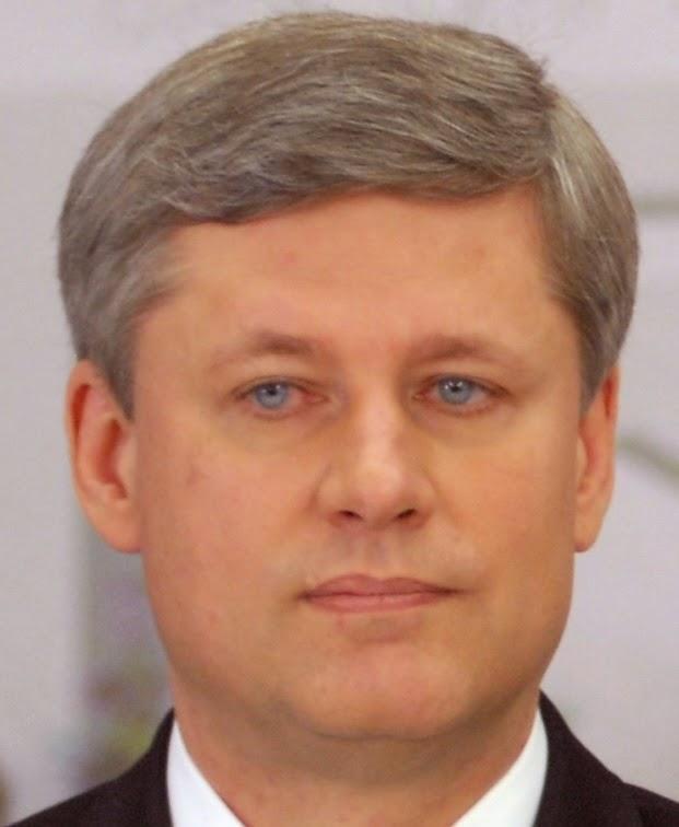 The Right Dishonourable Sleveen Stephen Joseph Harper, Prime Minister.