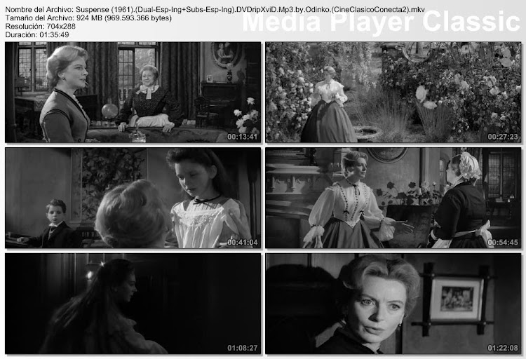 Capturas: Suspense | 1961 | The Innocents | Deborah Kerr