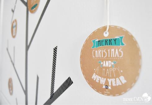 Kraft Christmas tree