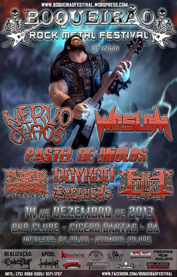Boqueirão Rock Metal Festival !!!