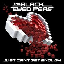 The Black Eyed Peas - Just Can't Get Enough single cover