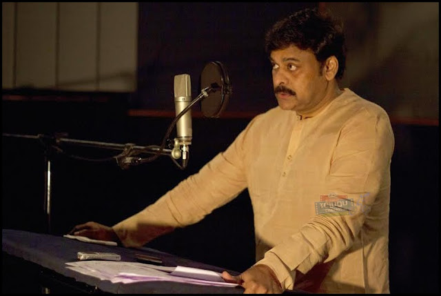 Megastar Chiranjeevi voice over