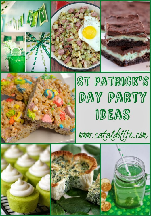 tasty tuesday #52, featuring recipes that inspire healthy eating, some inspirations for st patty's day and a handful of tasty recipes...
