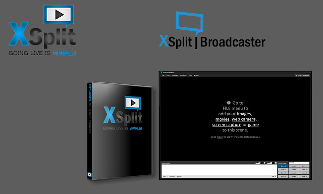 Crack Xsplit Broadcaster 1.1