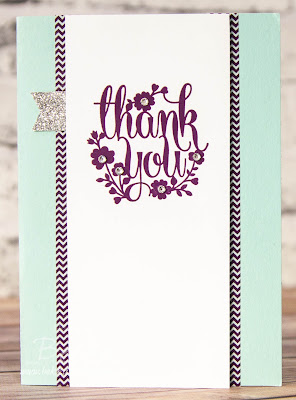 Make in a Moment - A Fast and Fabulous Thank You Card.  Get the details here