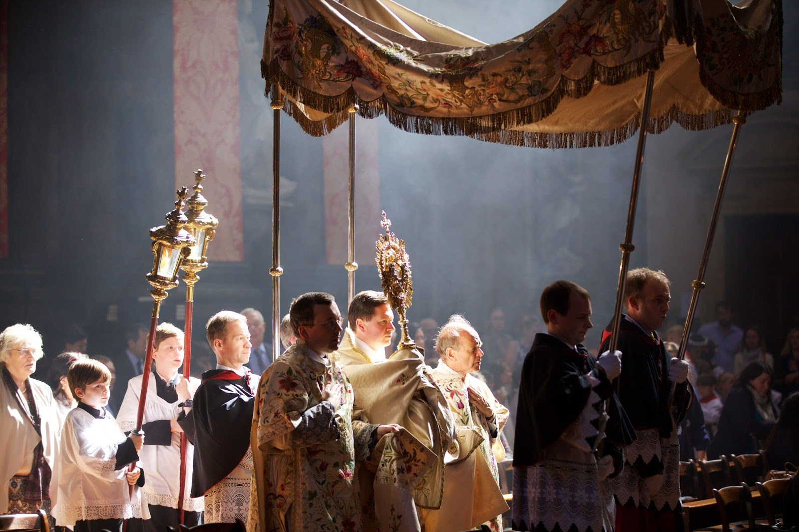Corpus Christi at Santissima Trinità dei Pellegrini