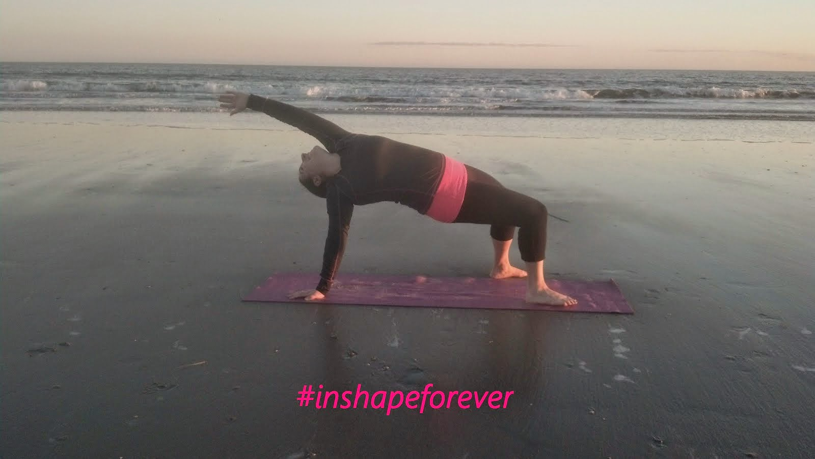 #InShapeForever
