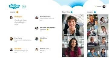 Skype integado ao Windows 8
