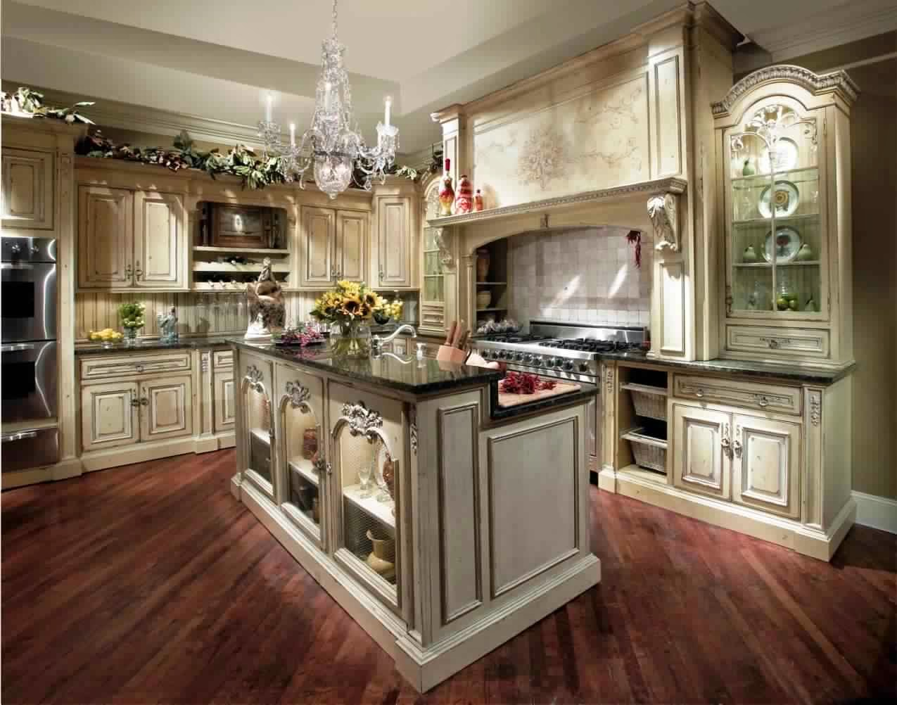 Cuisine Style Ancien. Carrelage Style Ancien With Cuisine Style ...