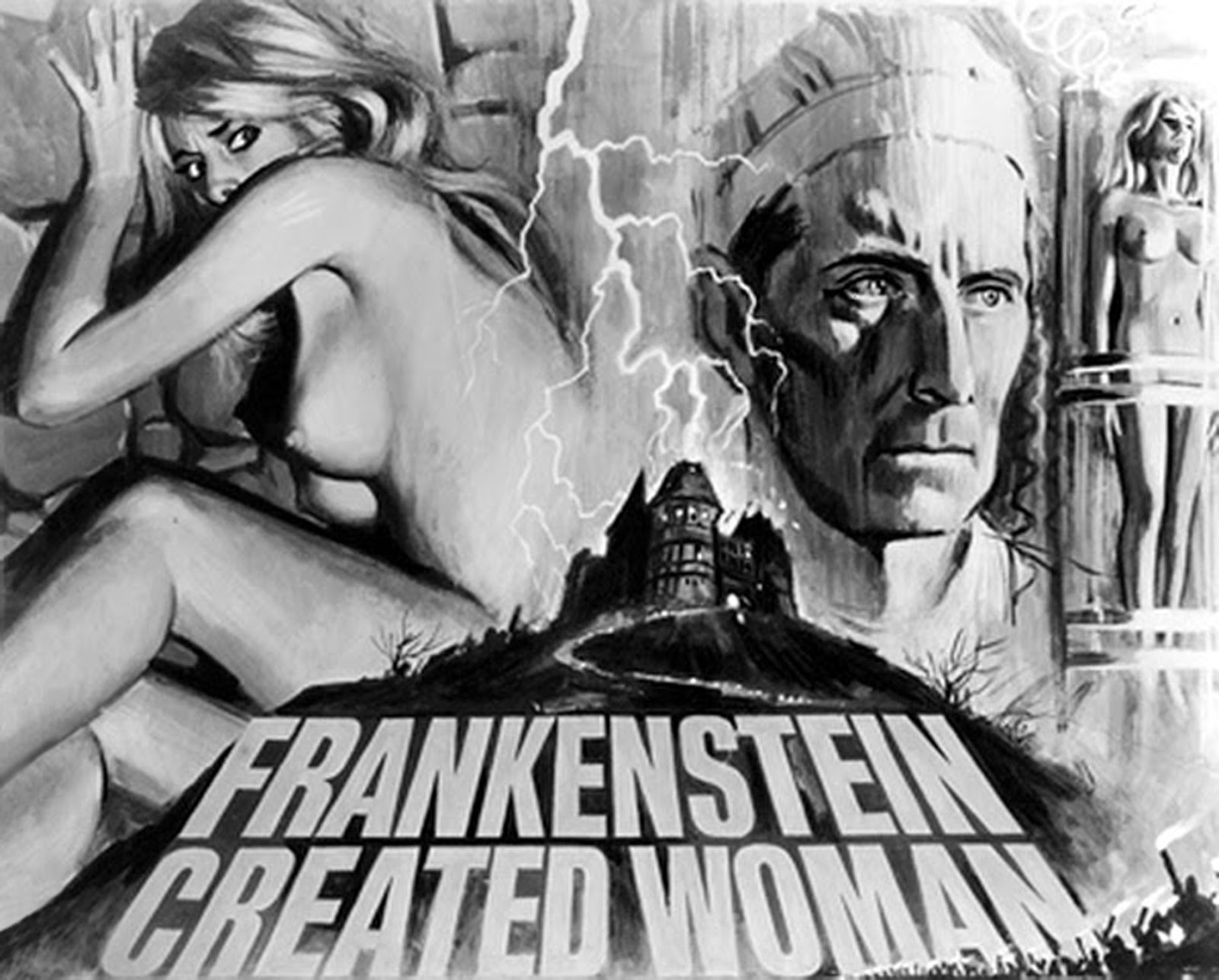 Frankenstein Created Woman (1967), poster
