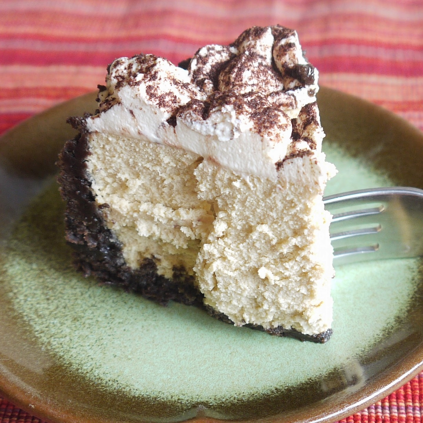 Being the Secret Ingredient: Cappuccino Cheesecake