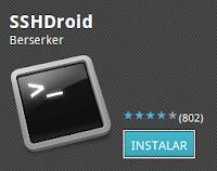 Imagen de SSHDroid