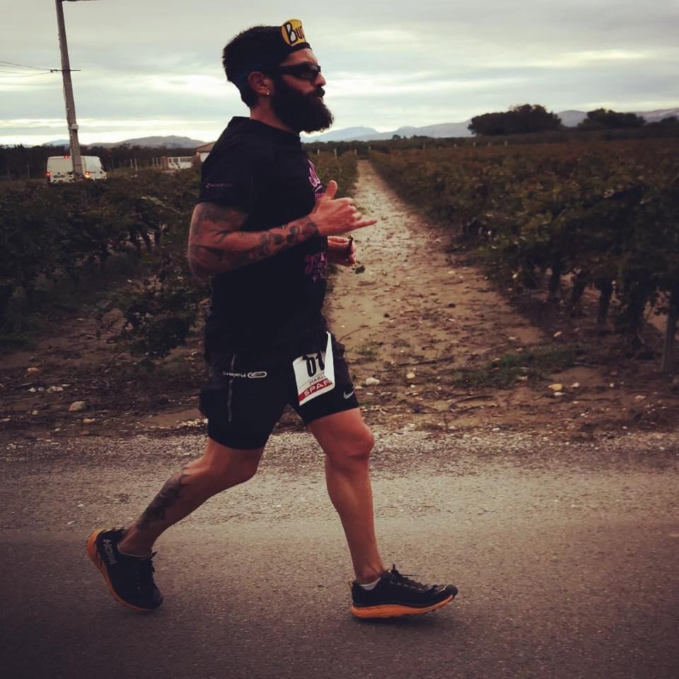 Spriridon Catalán: 100 km ultrafondoa
