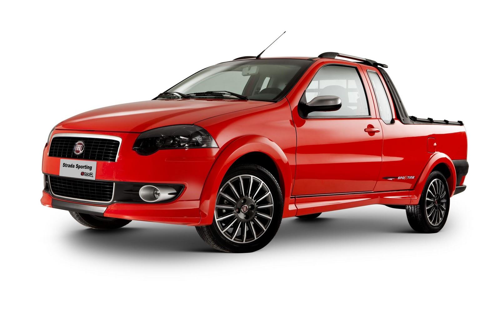 Fiat Strada Sporting Sai De Linha