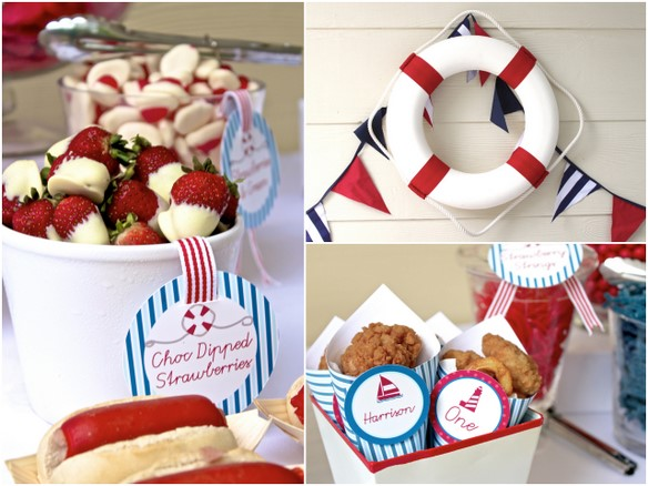 Perfect Party: Cumple náutico - Nautical themed party