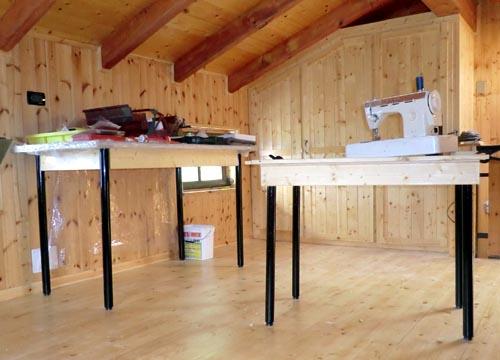 Il blog di locomotiva per fare un tavolo ci vuole un fiore - Tavoli per macchine da cucire ...