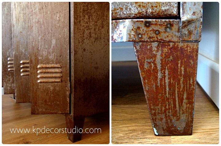 Kp tienda vintage online taquillas vintage estilo for Armario industrial vintage