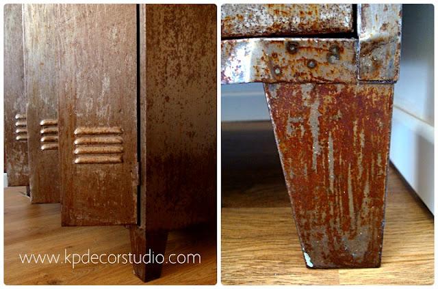 Taquillas antiguas para decoración vintage. Mobiliario industrial en valencia