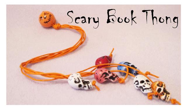 skull book thong