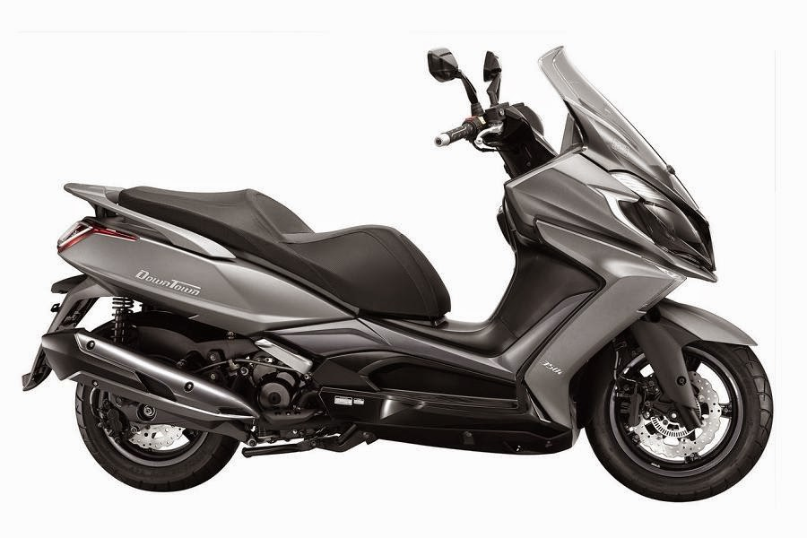 Kymco Downtown 350i (2015) Side