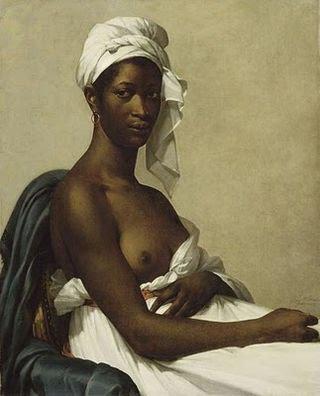 Marie Guillemine Benoist Portrait d'une Negresse