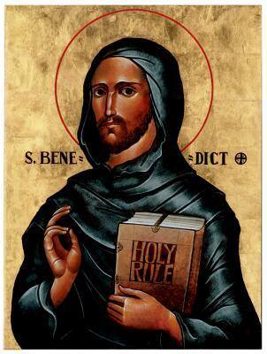 JULY 11 - SAINT BENEDICT, Abbot - Principle Patron Saint of Europe