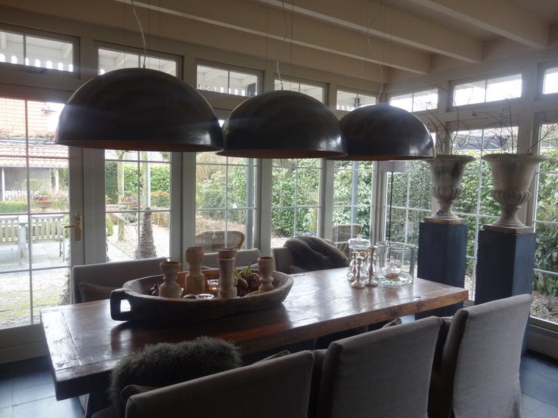 Het moonhuis bij ann de beukenhof - Gordijnen landelijke stijl chique ...