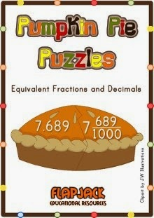 http://www.teacherspayteachers.com/Product/Pumpkin-Pie-Decimal-Fraction-Puzzles-165040