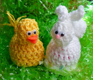 crochet bunny/duck egg holders tutorial