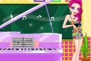 Piyanist Kız Giydirme Oyunu