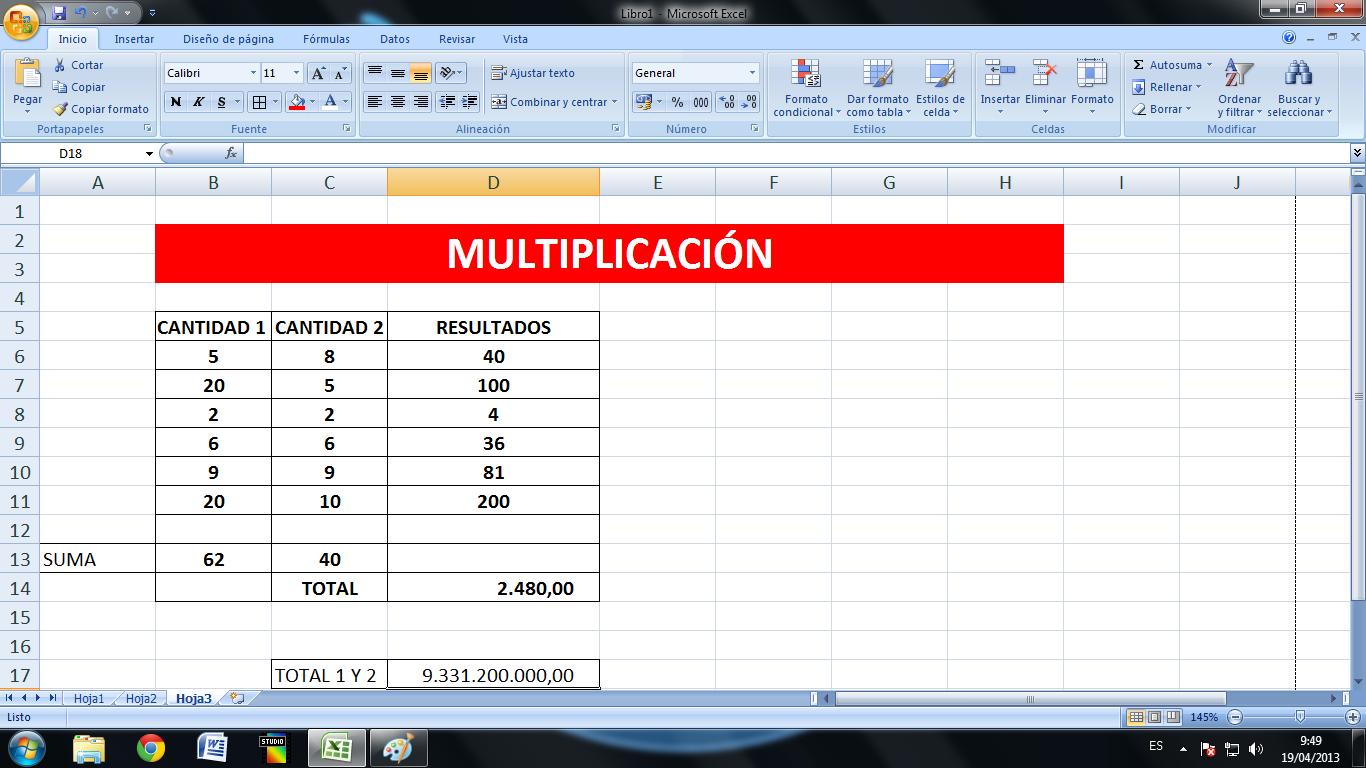 Как создать таблицу в Excel 2013 с точными размерами в см.? 94