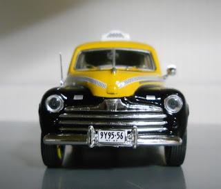 New York yellow cab ford fordon