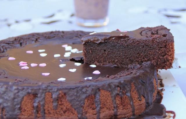 Tarta Suntuosa De Chocolate