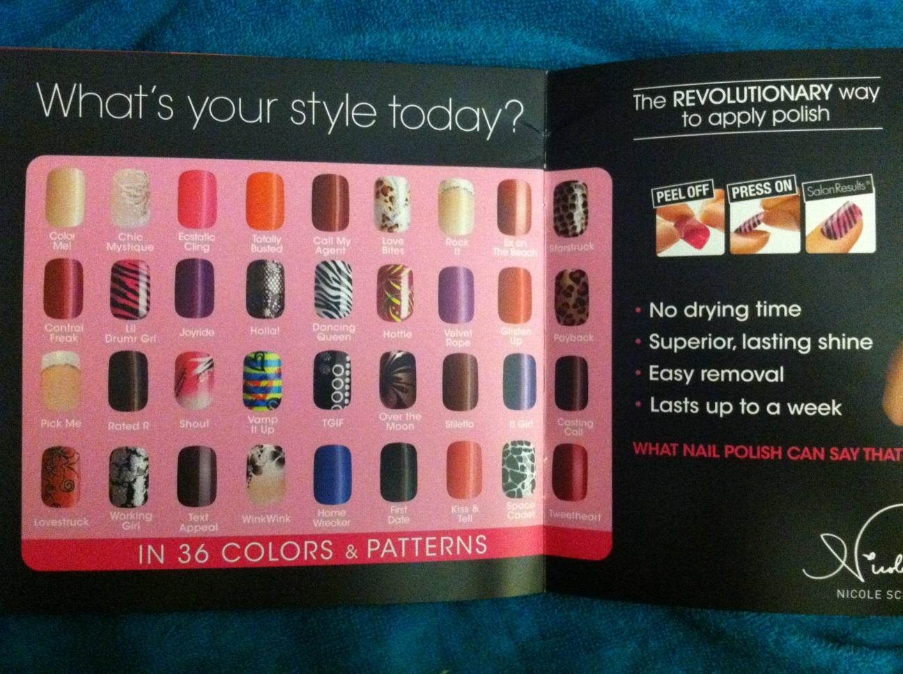 Tiny plastic fingernails: Broadway Nails imPress Press-on Nails