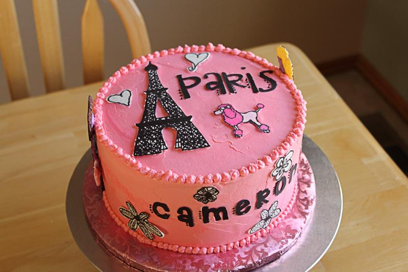 paris cakes ideas