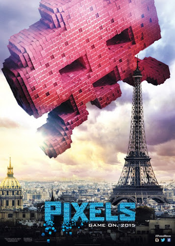 Pixels (BRRip 720p Dual Latino / Ingles) (2015)