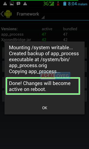 Cara install Xposed Framework di semua Android