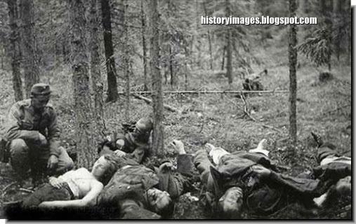 bodies dead german women