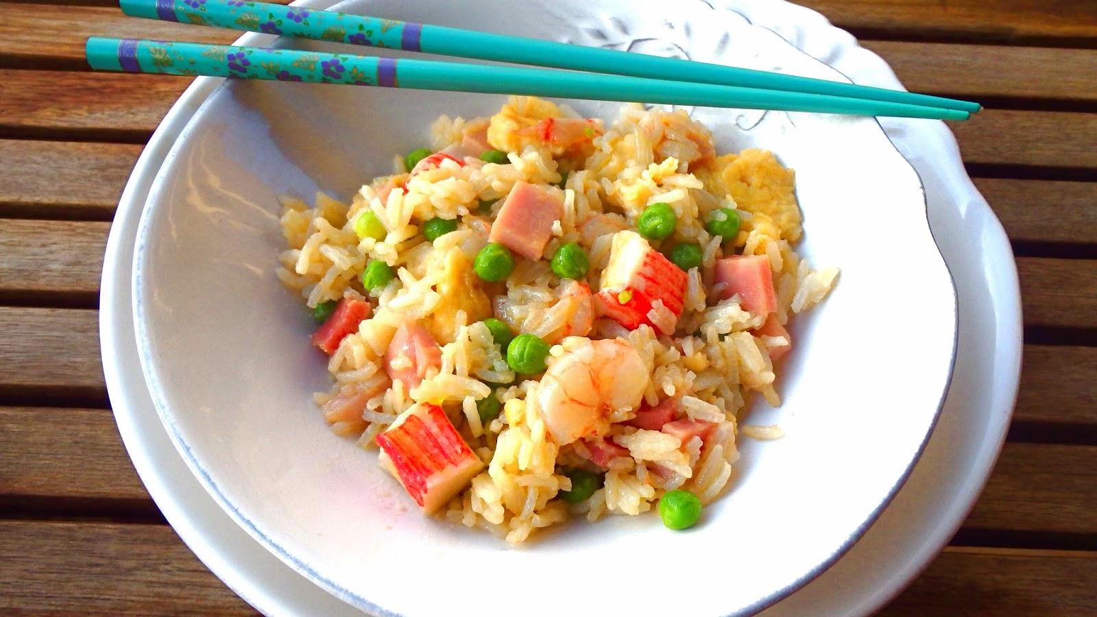 Les receptes que m 39 agraden arroz 3 delicias con gambas for Cocinar arroz 3 delicias