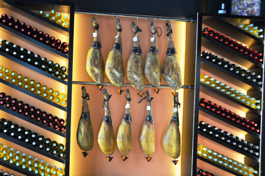Malaga Ham and Wine