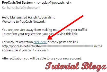 Cara Menghasilkan Uang dari Blog Melalui PopCash